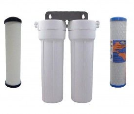 Doulton Ultracarb Twin Undersink Country Water Filter