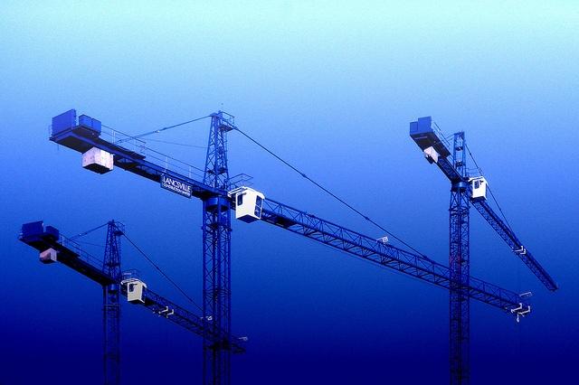 Blue Cranes    Like, share http://rochestercraneservices.com/