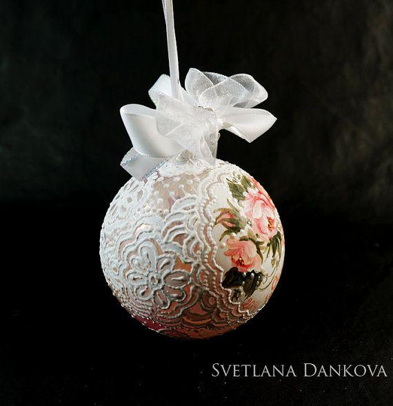 Наше первое Рождество Рождественские украшения ручной обычай, LaivaArt