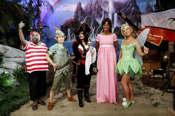 "Fly away to Never Never Land when #TheTalk celebrates Halloween with a magical ""Peter Pan""-themed show!"