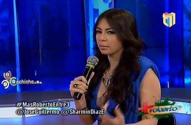 Conversación Entre 3: @SharminDiazE , @Joseguillermo Cortines Y Roberto Angel Salcedo @MasRoberto11 #Video