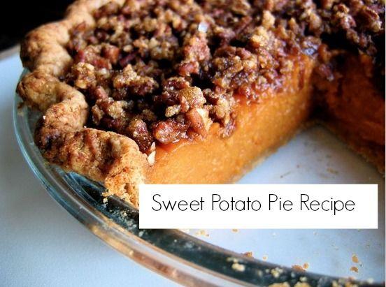 the perfect thanksgiving dessert sweet potato pie more sweet potato ...