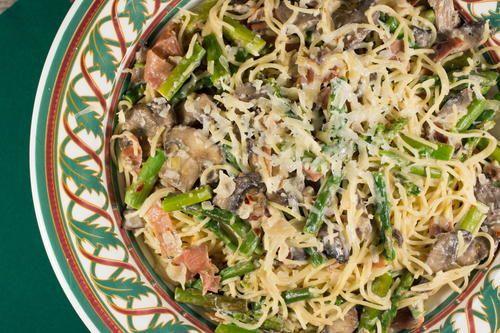 Prosciutto, Asparagus and Parmesan Spaghetti | Recipe | Prosciutto ...