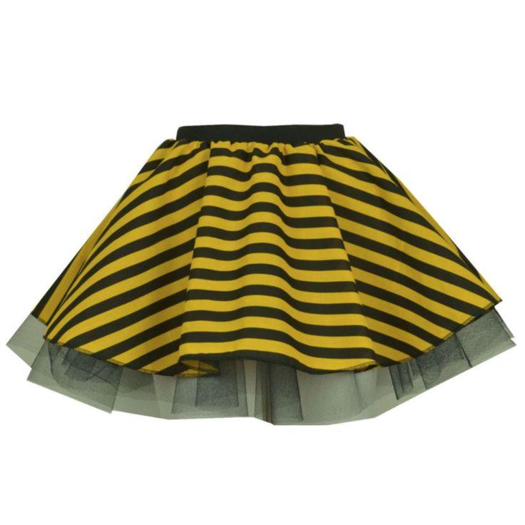 Girls Bumble Bee Skirt