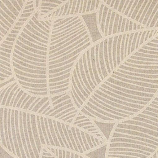 Textilwachstuch, Leinenlook mit Blättern