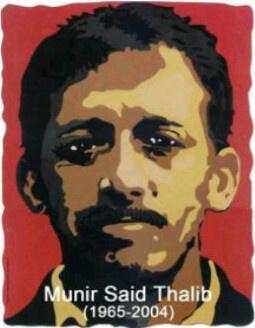 Avatar #8ThnMunir dari @Dandhy_Laksono yang memulai gerakan 2 juta avatar #Munir di Twitter