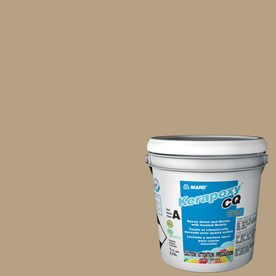 Mapei Kerapoxy Cq 1-Gallon Pale Umber Sanded Epoxy Grout 44452