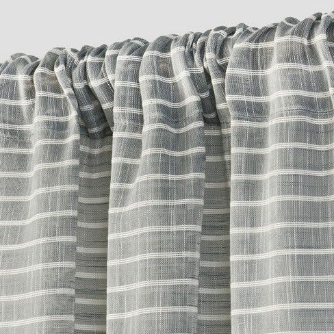 Pom Stripe Window Sheer - Threshold™ : Target