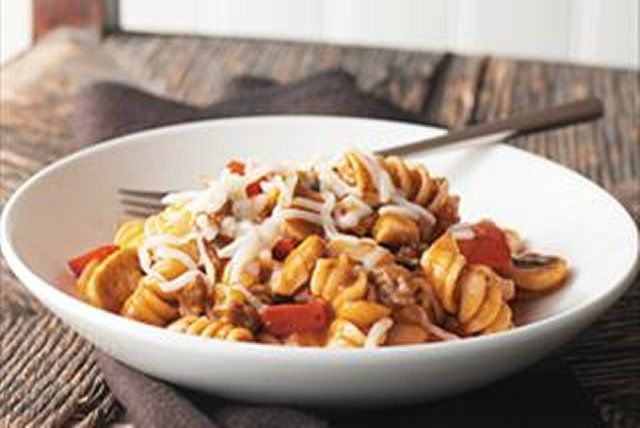 Put away your colander because this recipe is so simple you don't even need to drain the pasta. No need to boil the noodles separately - just combine all the ingredients and simmer your way to a delicious dinner.