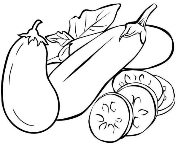 Eggplant Coloring Pages Printable Free Coloring Sheets Vegetable Coloring Pages Coloring Pages Cartoon Coloring Pages
