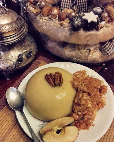 Moja Micha: Cynamonowy pudding z polenty
