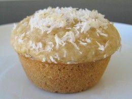 Coconut Muffins yeast gluten free--use egg sub