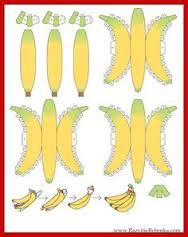 Afbeeldingsresultaat voor banaan knutselen