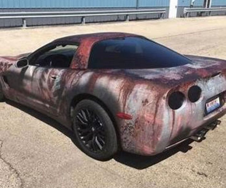 Automotive Rewind The Wildest Rust Wrapped Cars In 2020 Patina Paint Rust Cars