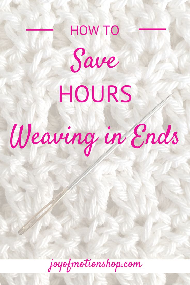 - The quick & easy way to save time while crocheting! This technique will literally save you HOURS!