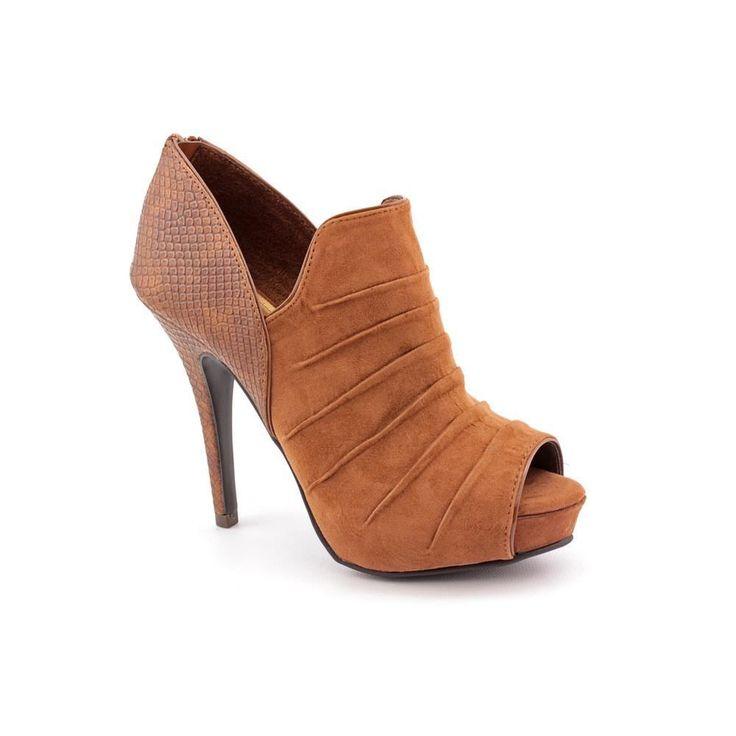 Fergalicious Errand Womens Peep Toe Textile Platforms Heels Shoes