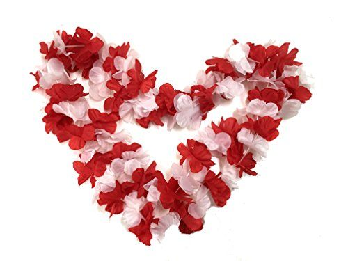 BOSHENG Red&White Flower Leis Necklaces for Tropical Isla... https://www.amazon.com/dp/B01FTLENI4/ref=cm_sw_r_pi_dp_nn3wxbHZ1N7Y1
