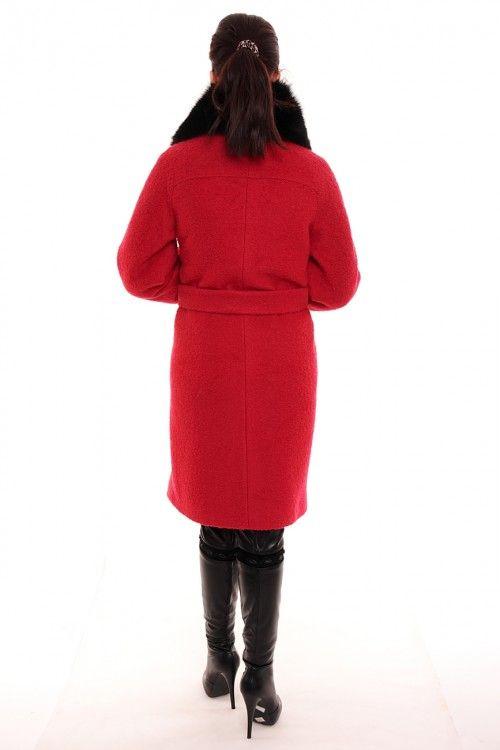 Пальто зимнее 81 Размеры: 46,48,50,52,54,56 Цвет: красный Цена: 9750 руб.  http://optom24.ru/palto-zimnee-81/