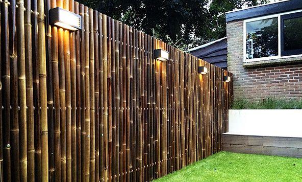 Bambu Bahçe Çiti Modelleri   Evhayat