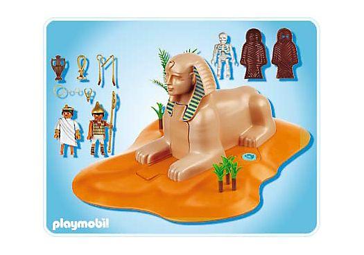 Sphinx avec momie - 4242-A - PLAYMOBIL® France