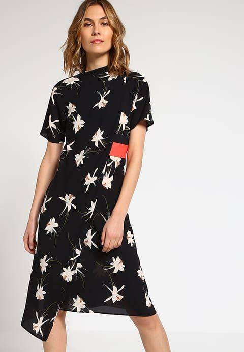 Topshop ORIGAMI - Sukienka letnia - black - Zalando.pl