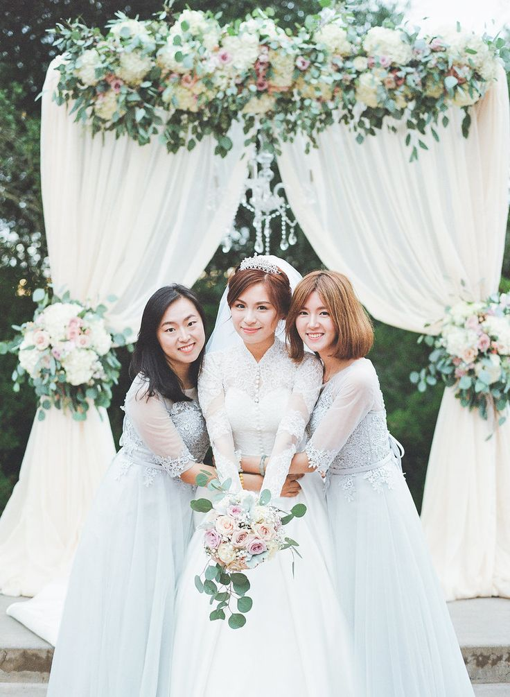 Fall Bridesmaid Dresses - Stella Yang Photography