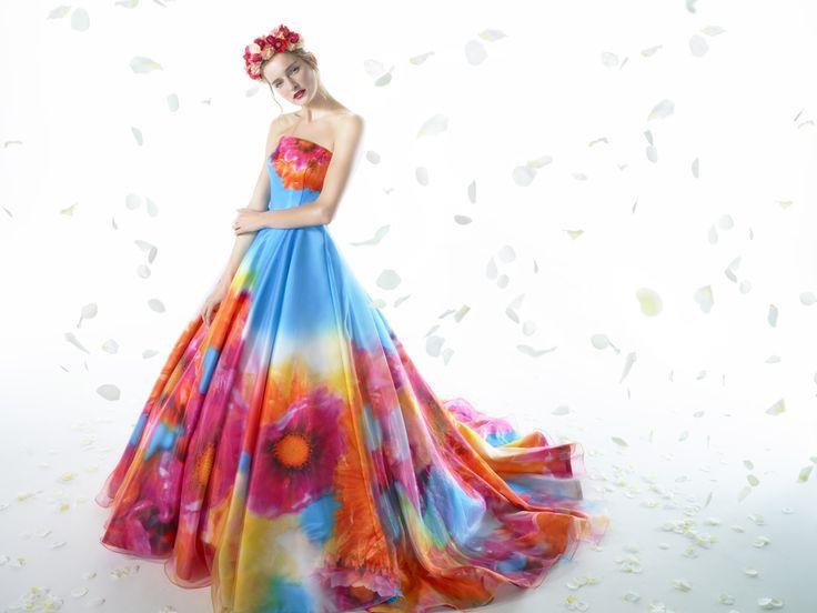 Wedding Dress 3rd Collection | Mika Ninagawa Official Site