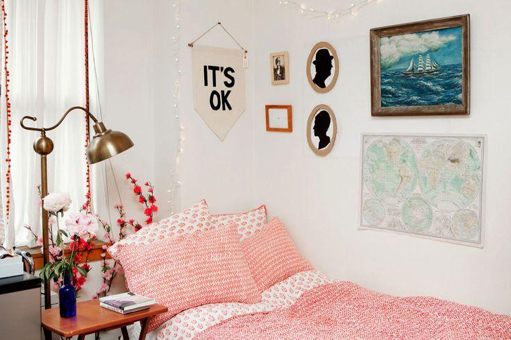 Tour College Student Augusta Dayton's Dorm Room