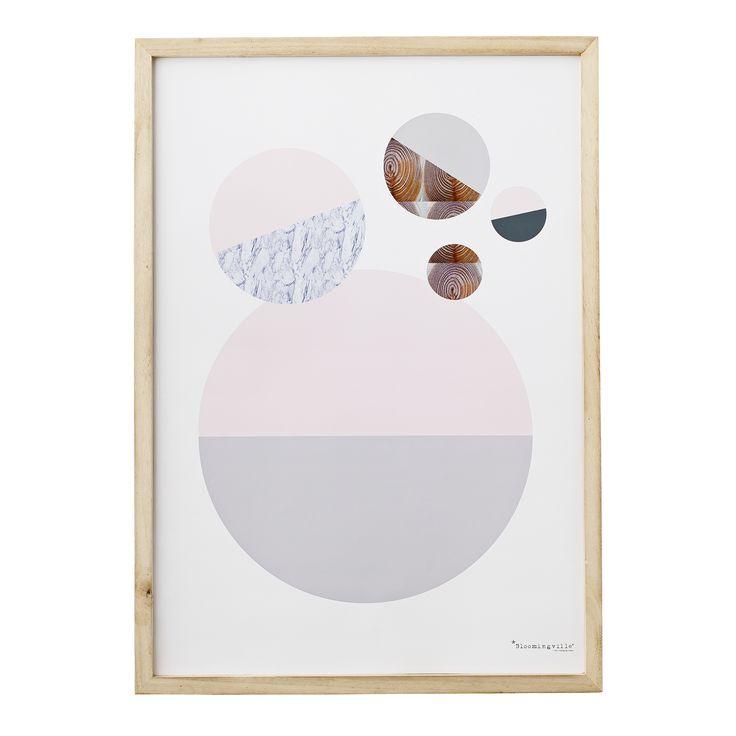 bloomingville frame geometric. Black Bedroom Furniture Sets. Home Design Ideas