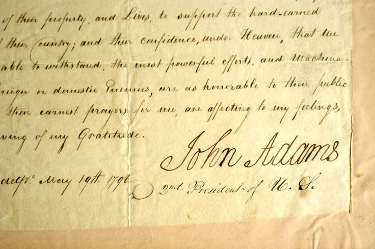 John Adams US constitution stock image. Image of signing ...  |Declaration Of Independence Signatures John Adams