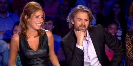 Léa Salamé et Aymeric Caron