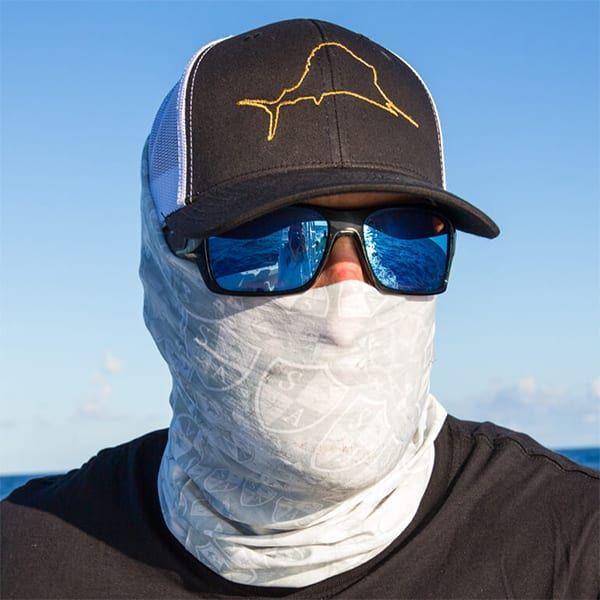 Ghost Face Salt Armour Sa Co Buff Neck Gaiter Balaclava Fishing Mask