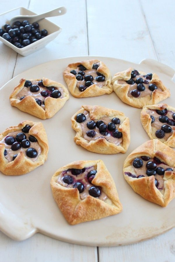 Blueberry Cream Cheese Breakfast Pastries