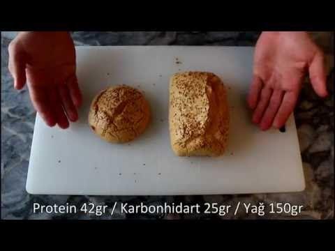 Ketojenik Ekmek Nasıl Yapılır? (Karbonhidratsız) - YouTube