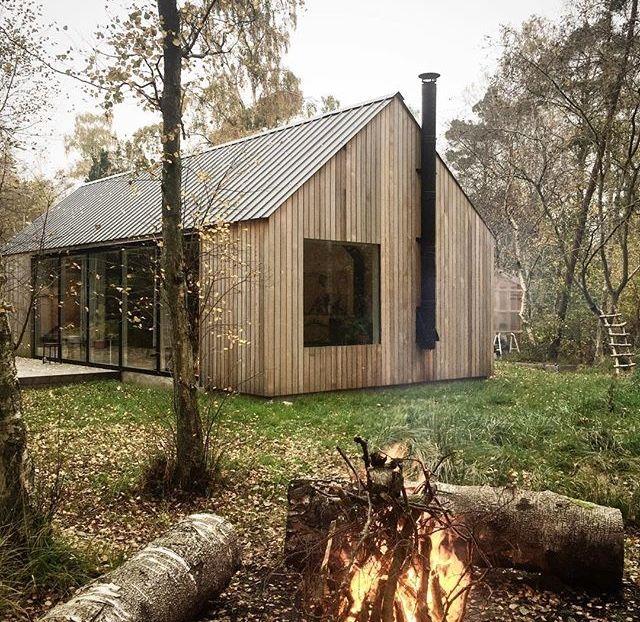 Vertical Cladding Contemporary Barn Style