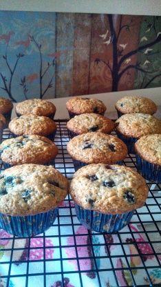 Easy Moist Banana Blueberry Muffins Recipe - Food.com