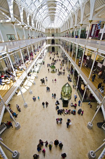 National Museum of Scotland,  Edinburgh, Scotland by Grant Ritchie. Favourite building in Edinburgh.
