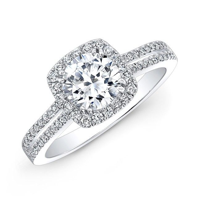 Best 25 Halo Diamond Rings Ideas On Pinterest