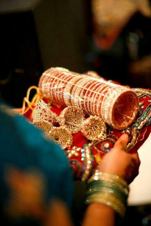 Bangles Worn By Bride On Her Wedding