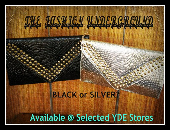 Clutches are and Essential key item on a night out to a glamourous event #Black #Silver #Gold #White @ #YDE