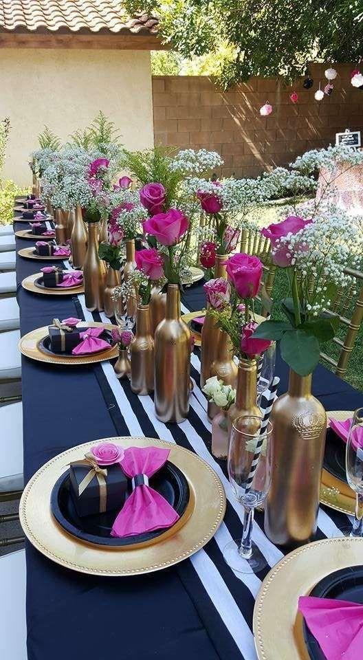 Kate Spade Braut- / Hochzeitsfeier-Occasion-Ideen | Foto 2 von 18 #tablescapes #desk …