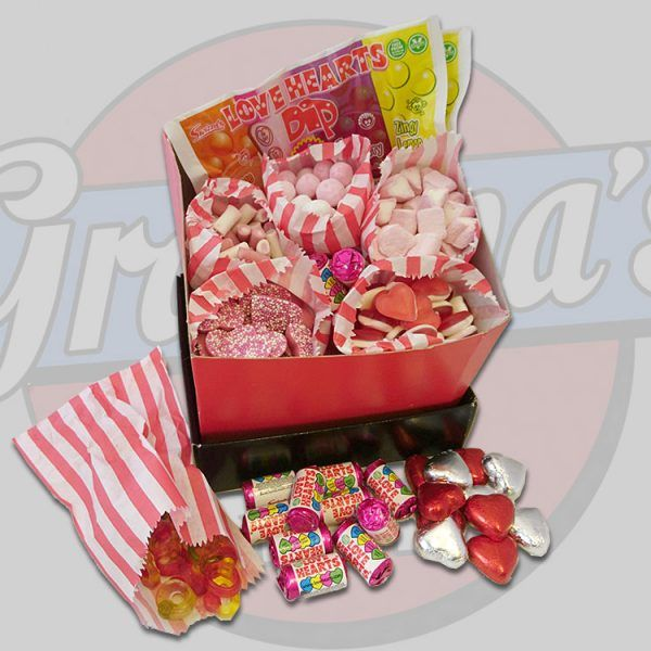 Why not show your someone special just how much they mean to you this Valentine's Day with this fabulous sweet hamper! Available to order from www.grandpassweetshop.co.uk  #valentinesday #valentines #14thfeb #love #iloveyou #romance #sweethamper #valentinesdaygiftideas #sweetshop #loveyouhamper #gifts #giftsforher