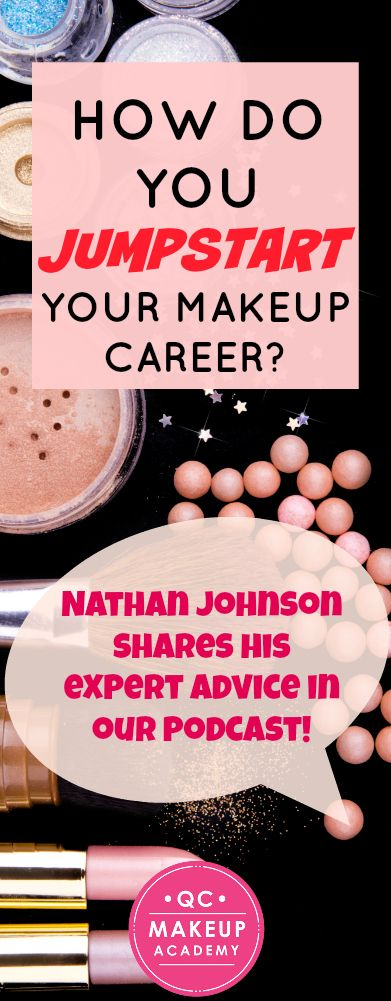 Maintaining a positive attitude, networking, reaching out to your dream organizations - these are just some of the wonderful tips provided by QC tutor & celebrity makeup artist Nathan Johnson in our first podcast episode! Be sure to tune in! Download on i