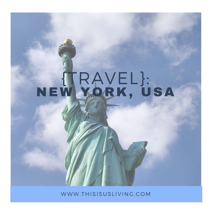 Travel to New York, NYC, United States of America
