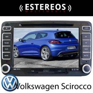 Estereo Multimedia Con Navegador Satelital  Volkswagen Scorocco