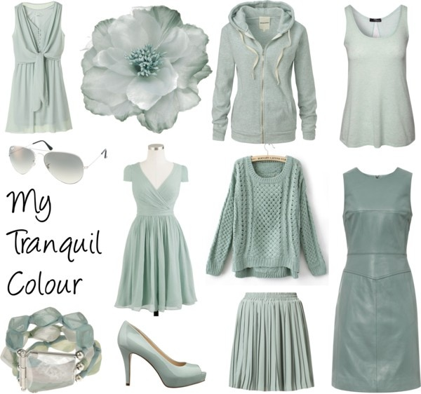 """""""My Tranquil Colour"""" by colorazione on Polyvore"""