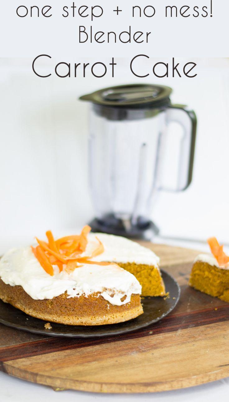 Carrots In Blender For Cake Recipe