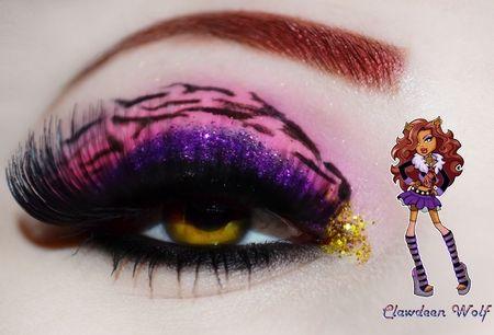 Monster High series - Clawdeen wolf https://www.makeupbee.com/look.php?look_id=86951