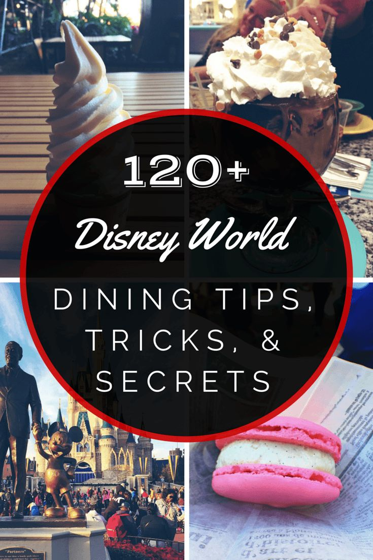 Disney World Dining Tips and Secrets