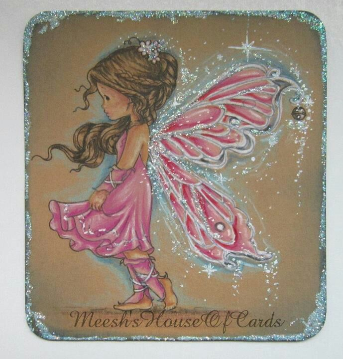 With fairy stamp by Whimsy - sylvia zet